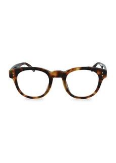 Linda Farrow 46MM Round Novelty Optical Glasses