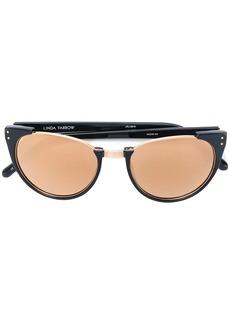 Linda Farrow cut out frame sunglasses