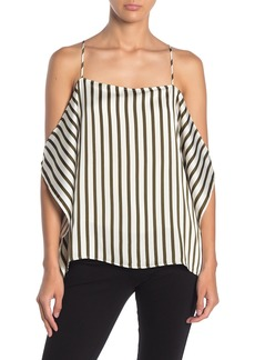 Line & Dot Charlotte Cold Shoulder Stripe Top