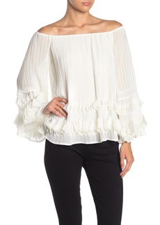 Line & Dot Kuna Off-the-Shoulder Blouse