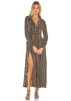 Line & Dot Abby Midi Dress