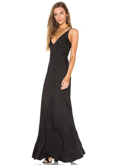 Line & Dot Adele Bias Maxi Dress