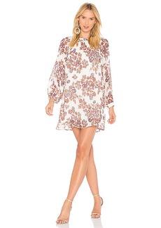 Line & Dot Adelene Babydoll Dress in Ivory. - size L (also in M,S,XS)
