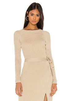 Line & Dot Alysa Sweater Set Top