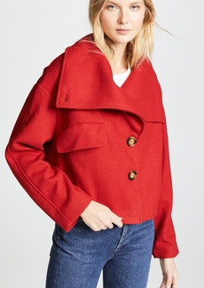 Line & Dot Belle High Collar Jacket