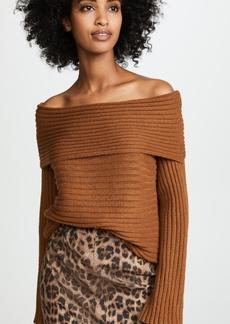 Line & Dot Benigna Off Shoulder Sweater