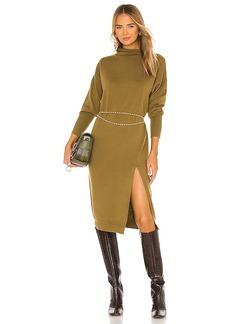 Line & Dot Beverly Mock Neck Dress