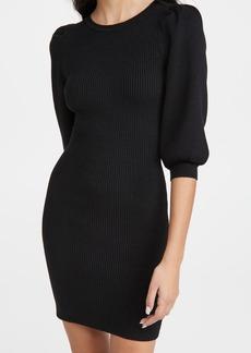 Line & Dot Brielle Puff Sleeve Sweater Dress