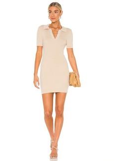 Line & Dot Brittany Ribbed Mini Dress