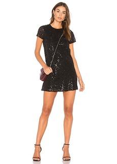 Line & Dot Charmant Mini Dress in Black. - size L (also in S,XS)