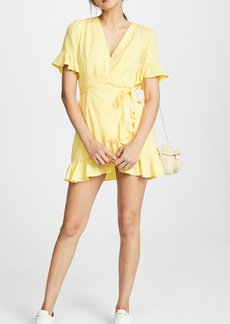Line & Dot Cherie Wrap Dress