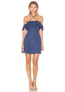 Line & Dot Ciel Ruffle Dress