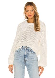 Line & Dot Dinah Collared Sweater