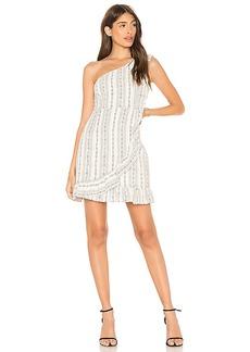 Line & Dot Edna One Shoulder Dress