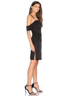 Line & Dot Eva Tube Dress in Black. - size L (also in M,S,XS)