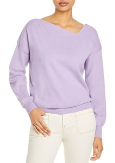 Line & Dot Favorite Geometric Neck Sweater