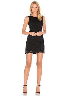 Line & Dot Ganen Lace Dress in Black. - size L (also in M,XS)