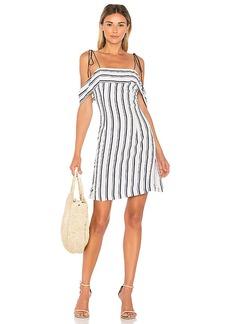 Line & Dot Gavin Dress in White. - size M (also in L,XS)