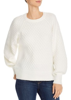 Line & Dot Jillian Honeycomb Sweater