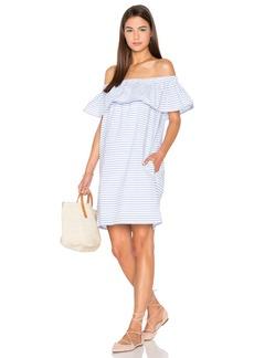 Line & Dot Lea Ruffle Mini Dress