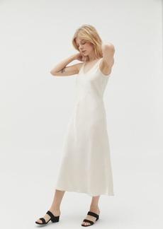 Line & Dot Loulou Satin Slip Dress