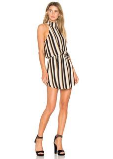 Line & Dot Oak Halter Dress