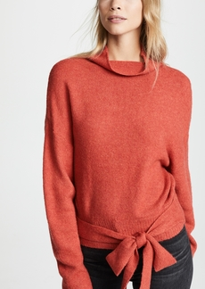 Line & Dot Oriana Tied Sweater
