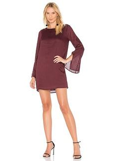 Line & Dot Philipa Shift Dress in Purple. - size L (also in M,S,XS)