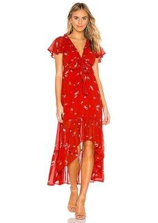 Line & Dot Pradera Midi Dress