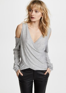 Line & Dot Roslyn Cold Shoulder Sweater