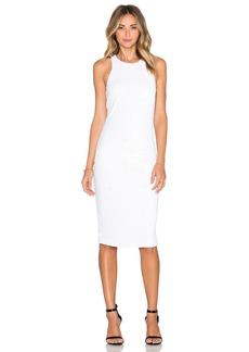 Line & Dot Royale Halter Dress