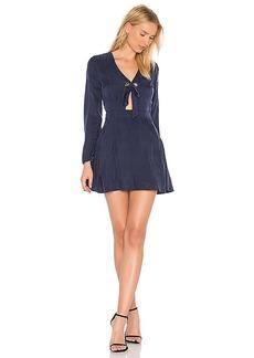 Line & Dot Rue Grommet Dress in Navy. - size L (also in M,S,XS)