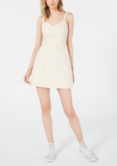 Line & Dot Sleeveless Bustier Dress