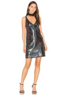 Line & Dot Thea Sequin Mini Dress