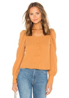 Line & Dot Thea Square Neck Blouse