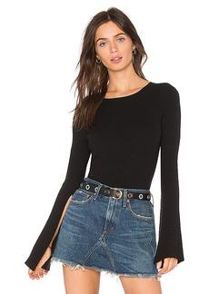Line & Dot Viviane Belled Cuffs Sweater