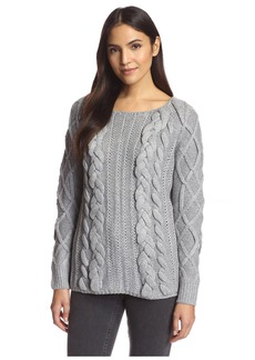 Line & Dot Women's Hillary Chunky Knit Sweater