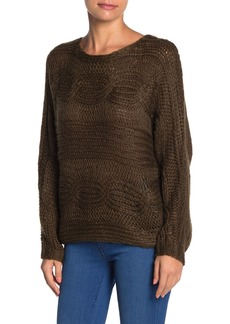 Line & Dot Lydia Cable Knit Sweater