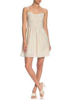 Line & Dot Nina Stripe Woven Dress
