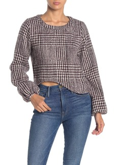 Line & Dot Thalia Plaid Top