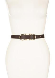 Linea Pelle Double Buckle Belt