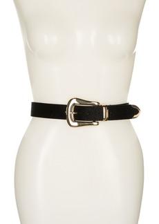 Linea Pelle Faux Hair Keeper Belt