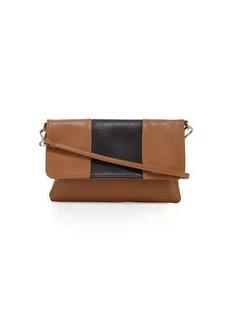 Linea Pelle Colorblock Faux-Leather Crossbody Bag