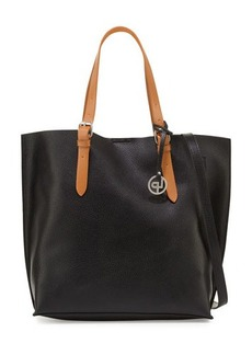 Linea Pelle East-West Buckle Tote Bag