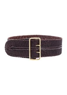 Linea Pelle Woven Braided Waist Belt