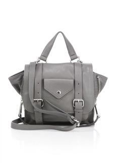 Linea Pelle Rowan Mini Leather Messenger Bag