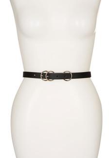 Linea Pelle Triple O-Ring Belt