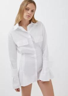 Lioness Button-Down Shirt Dress