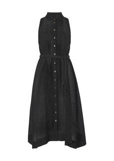Lisa Marie Fernandez Alison linen maxi dress