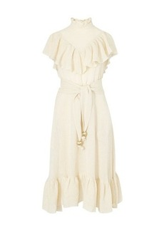 Lisa Marie Fernandez Antonina linen maxi dress